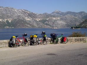 Cycling Bay of Kotor by Rhiannon Davies